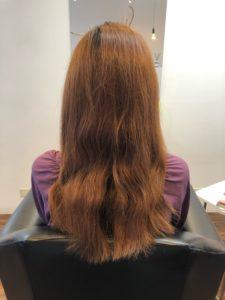 髪質改善トリートメント サイエンスアクア お客様の仕上がりお写真
